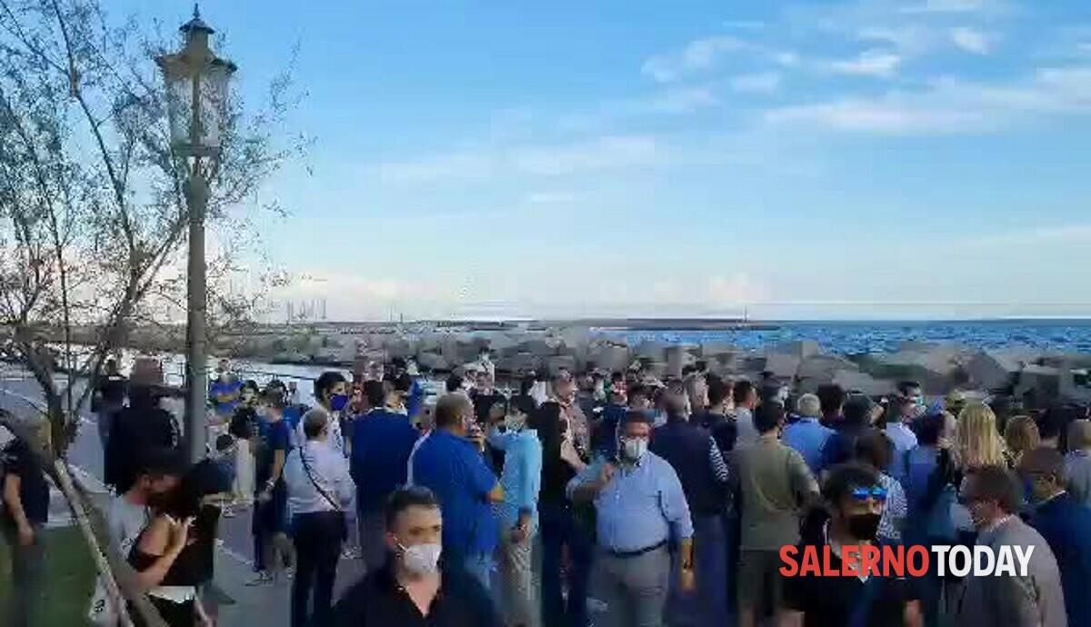 Elezioni amministrative: Salvini in visita in città, il video