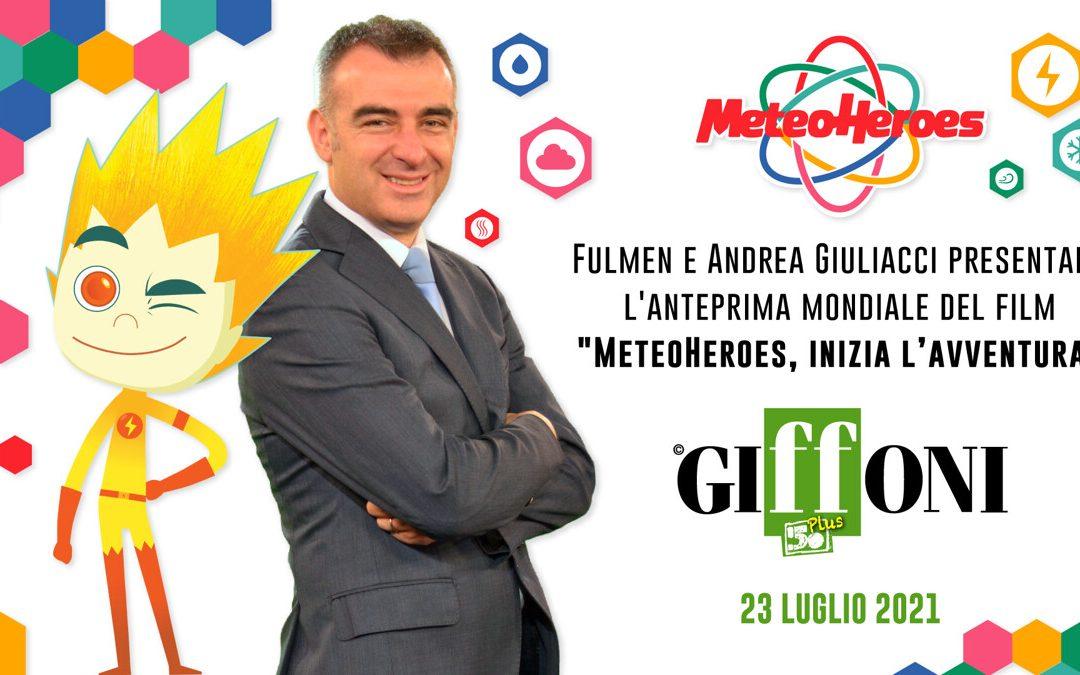 Giffoni, domani l'evento con il meteorologo Andrea Giuliacci