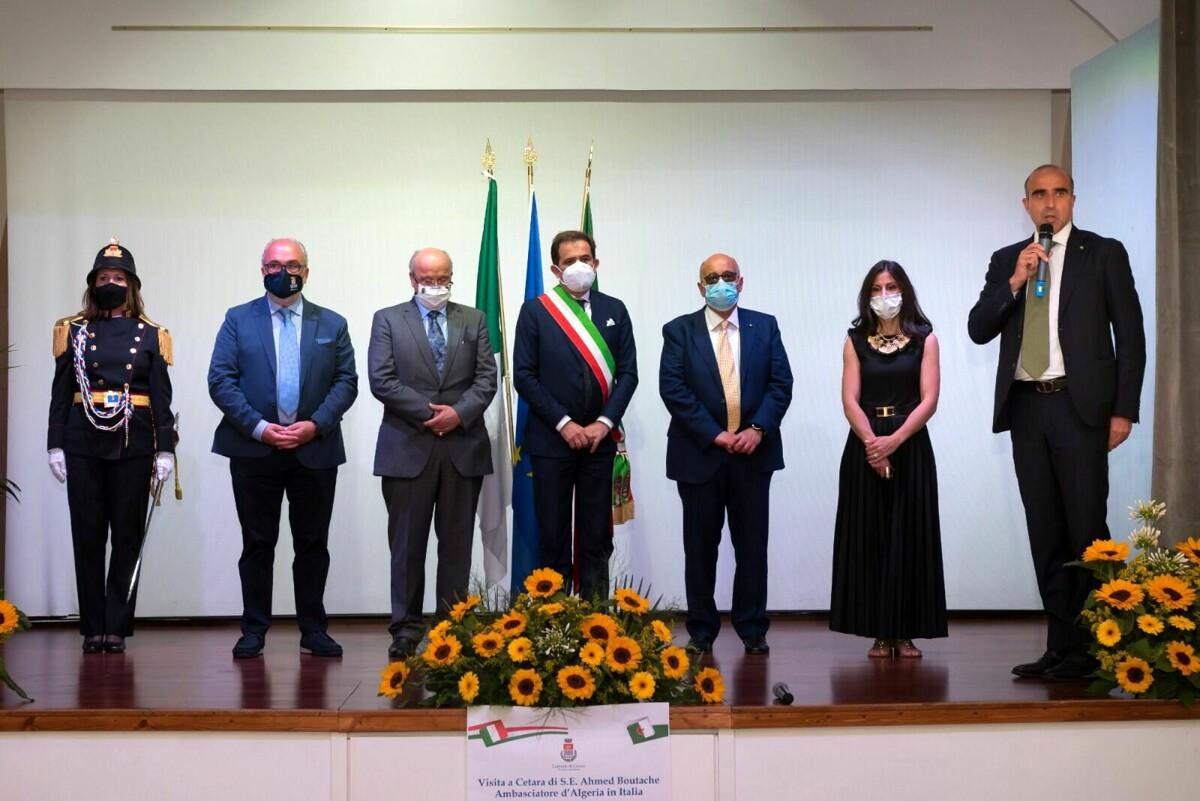 Cetara, domani si firma il gemellaggio con l'Ambasciatore d'Algeria Ahmed Boutache