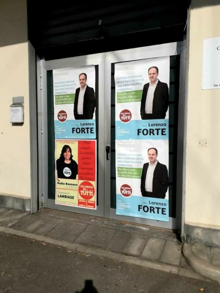 Elezioni 2021, Forte e Bassano (Salerno di Tutti) aprono il comitato elettorale