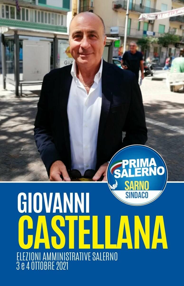 """Elezioni 2021, Giovanni Castellana (Prima Salerno): """"Ecco le priorità per la nostra città"""""""