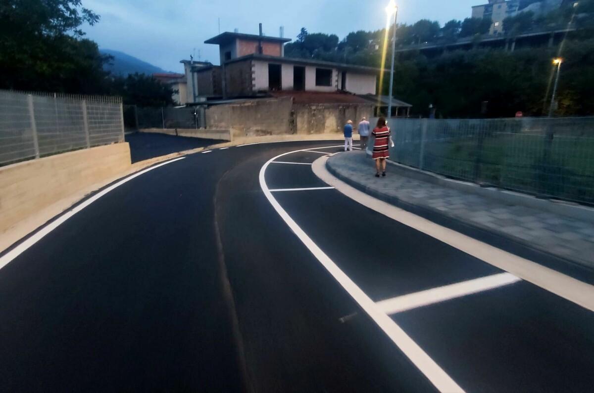 Montecorvino Rovella, nuova strada in centro: inaugurata via Enrico Corrado