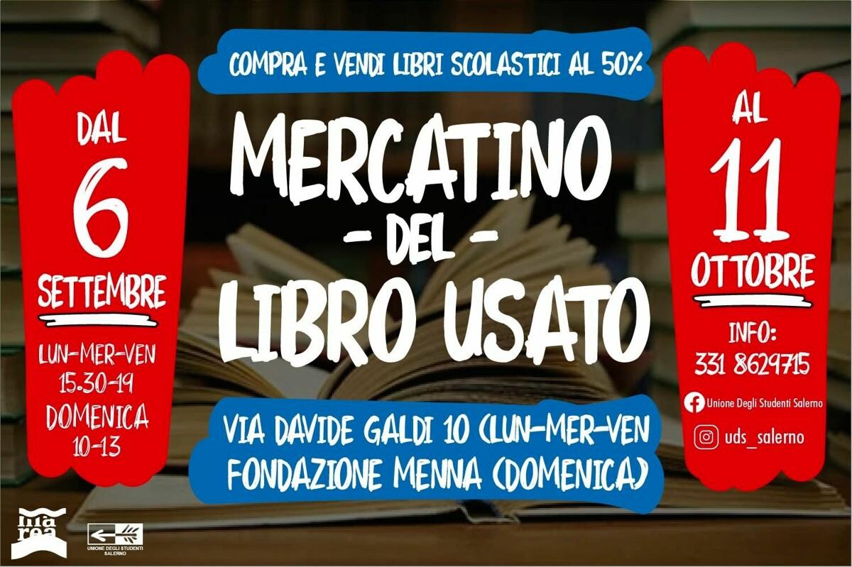 Scuola, torna il mercatino del libro usato a Salerno: ecco quando