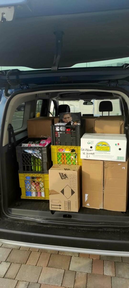 Aiuti per gli afgani giunti in Campania: la consegna di Salerno Carità alla Protezione Civile