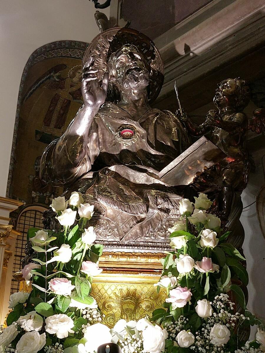 San Matteo 2021: il programma delle messe, accesso libero per 1500 fedeli al Solenne Pontificale