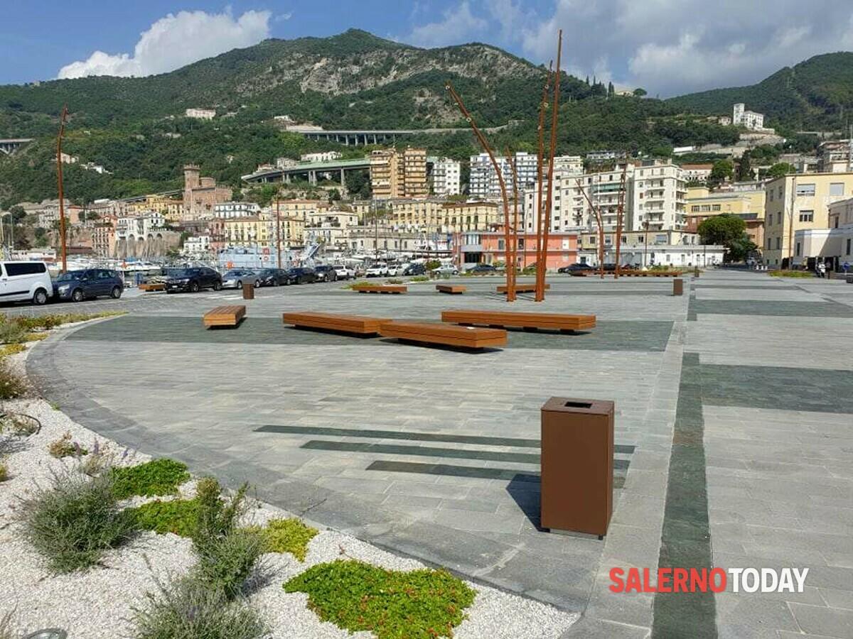 Salerno, il Molo Manfredi cambia volto: lavori in via di ultimazione