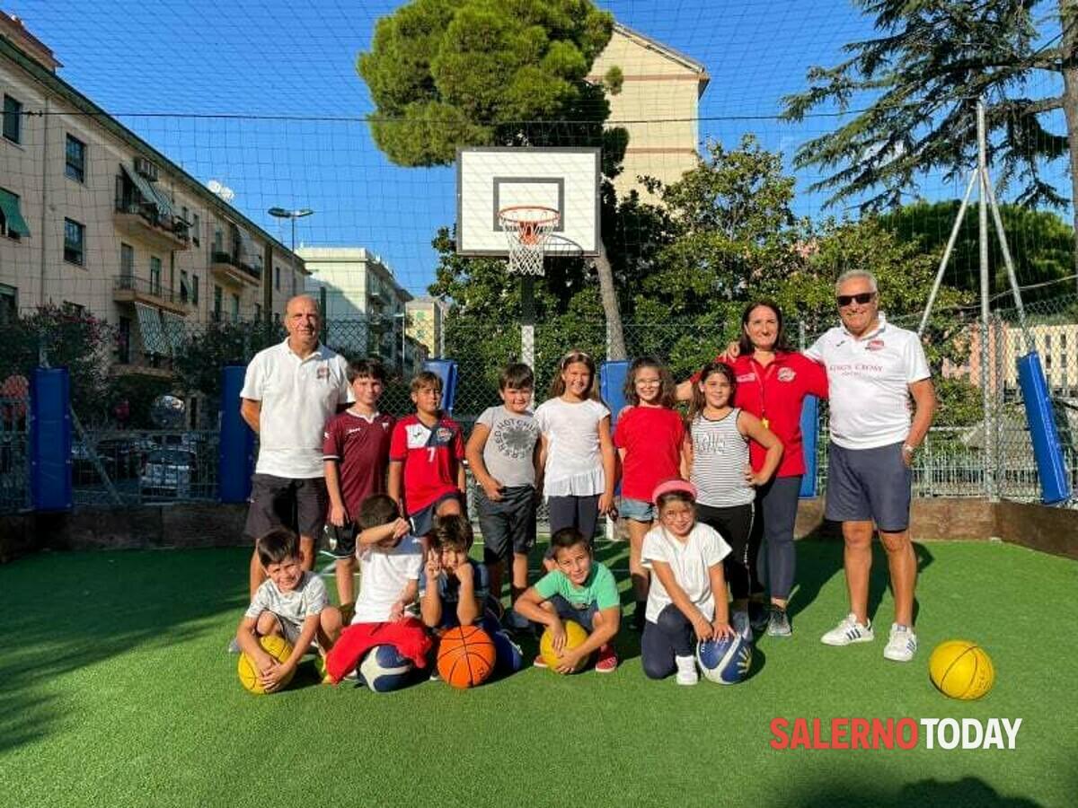 Open day sportivi per i più piccoli, la parrocchia San Demetrio accoglie il Basket Ruggi