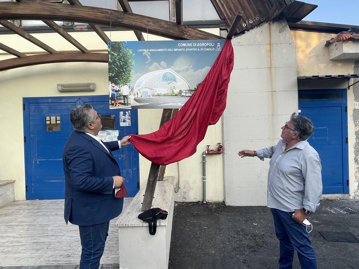 Agropoli: al via i lavori di adeguamento del Palazzetto dello Sport