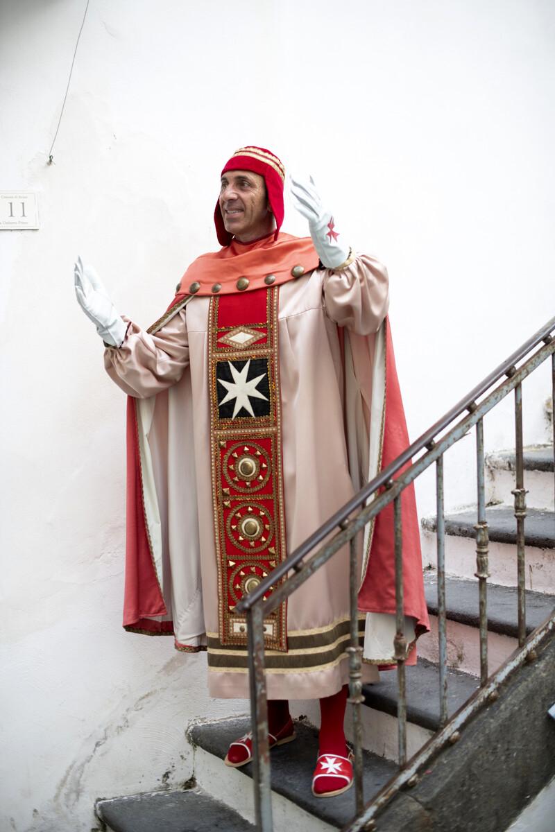 Amalfi incorona il suo Magister a conclusione del Capodanno Bizantino