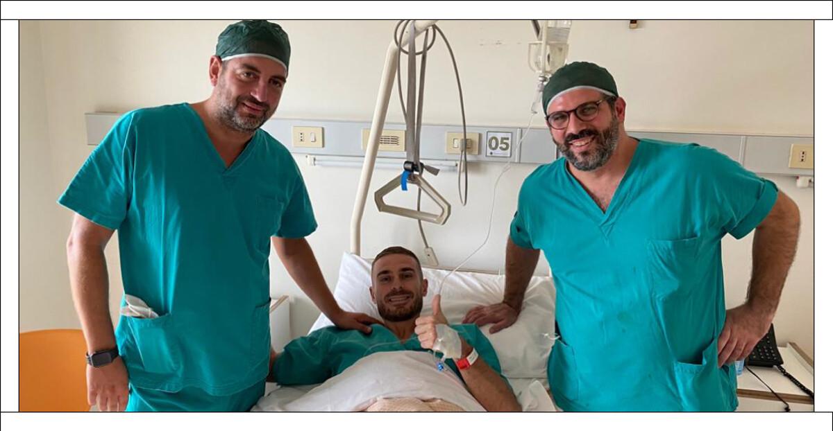 Intervento al menisco per Capezzi al Campolongo Hospital: la curiosità