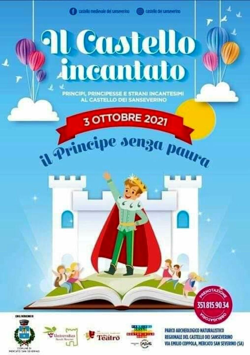 """""""Il principe senza paura"""": è tutto pronto per le favole nel castello di Mercato San Severino"""