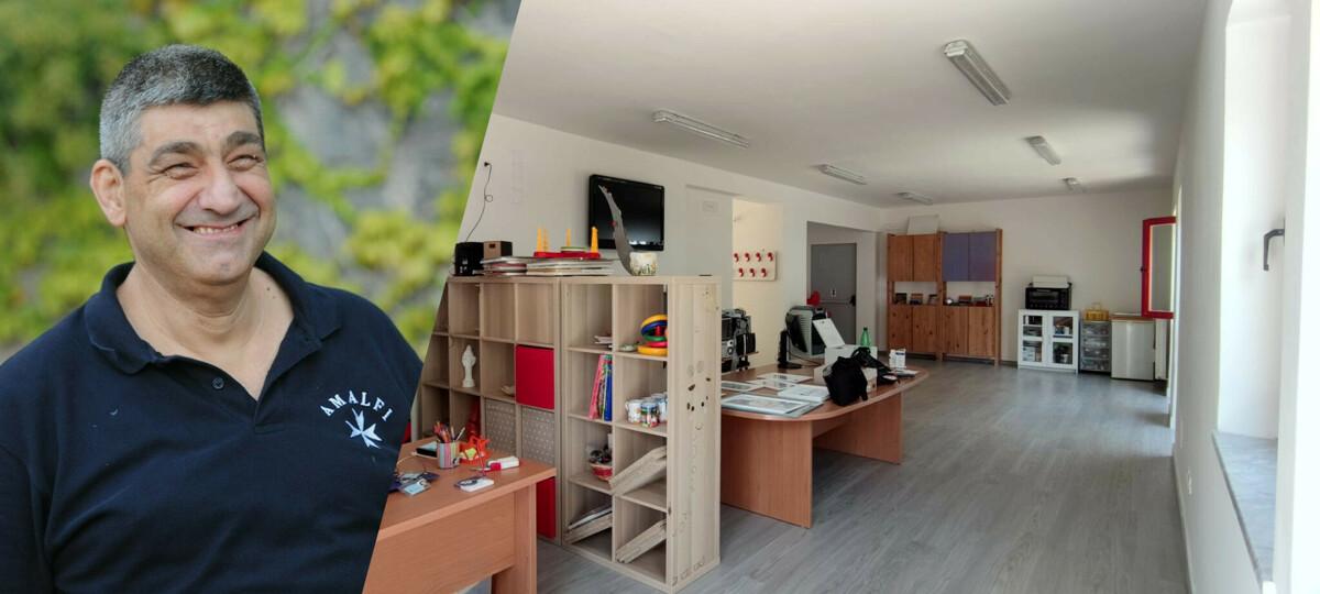 Amalfi, si inaugura la nuova sede del Centro Diurno per disabili adulti