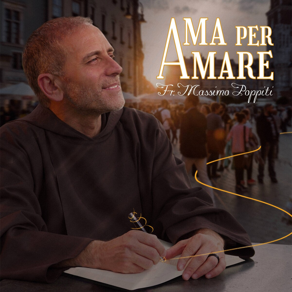 """""""Ama per amare"""", è pronto il nuovo album di Frate Massimo Poppiti"""