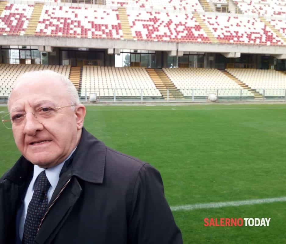 """L'ippocampo e il futuro, parla De Luca: """"Stiamo vicino alla Salernitana"""""""