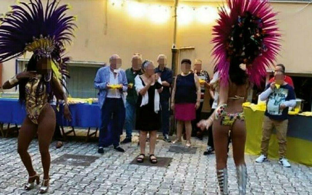 Festa con ballerine brasiliane al centro di Salute mentale di Cava: sospesa la direttrice