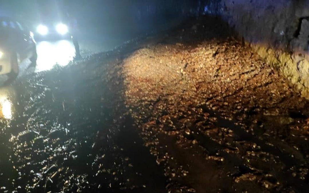 Frana sulla Mingardina, chiude la strada: disagi nei comuni del Cilento