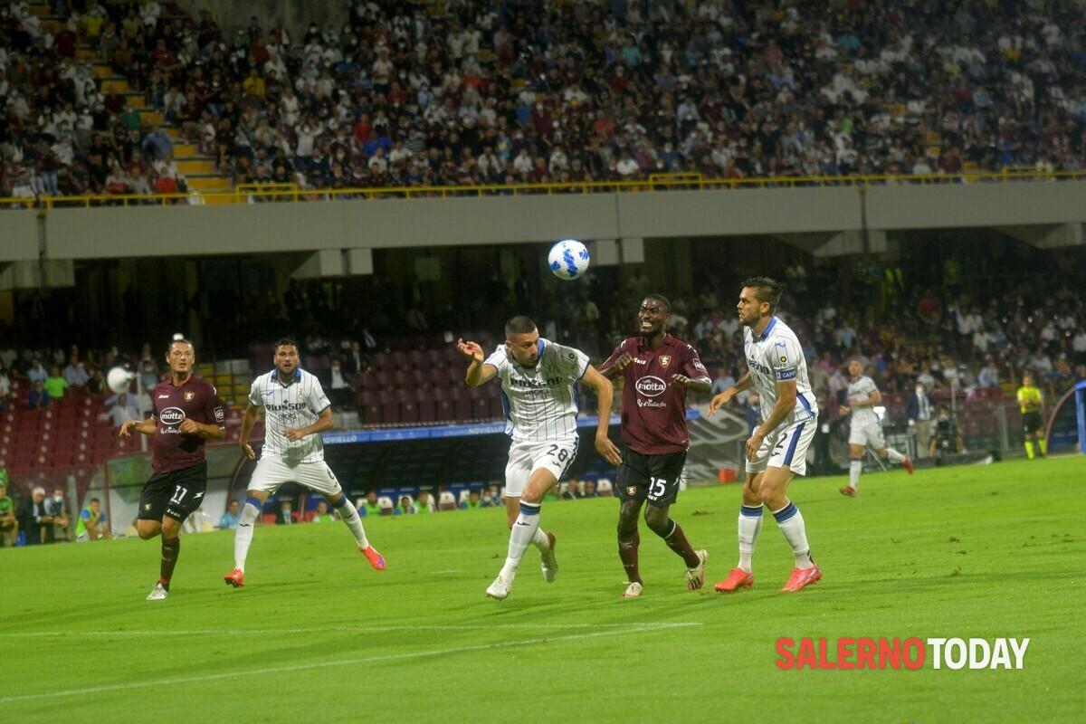 Salernitana-Atalanta: il tabellino della partita