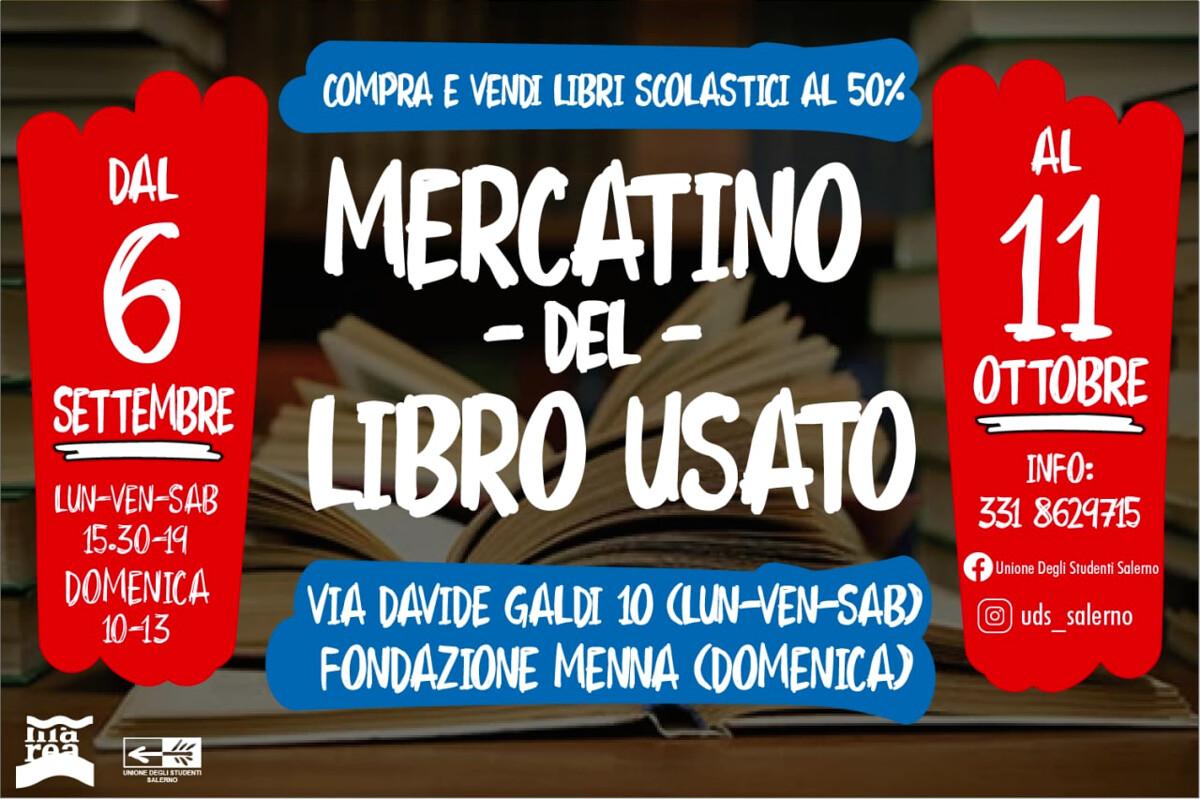 Libri usati: ha inizio il mercatino dell'Unione degli Studenti Salerno