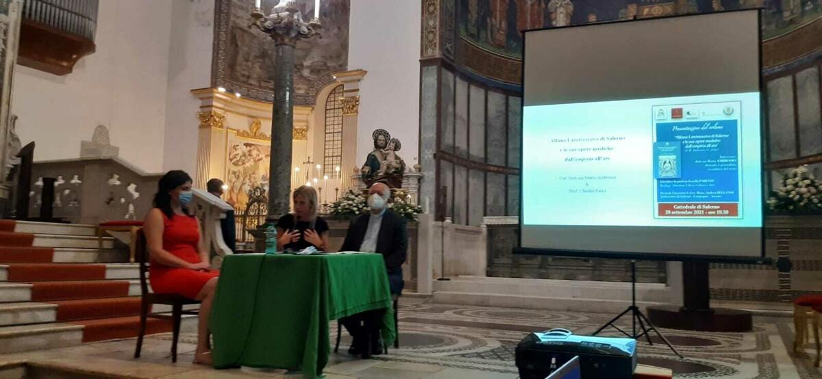 """""""Alfano I arcivescovo di Salerno e le sue opere mediche: dall'empiria all'ars"""": la presentazione del libro al Duomo di Salerno"""