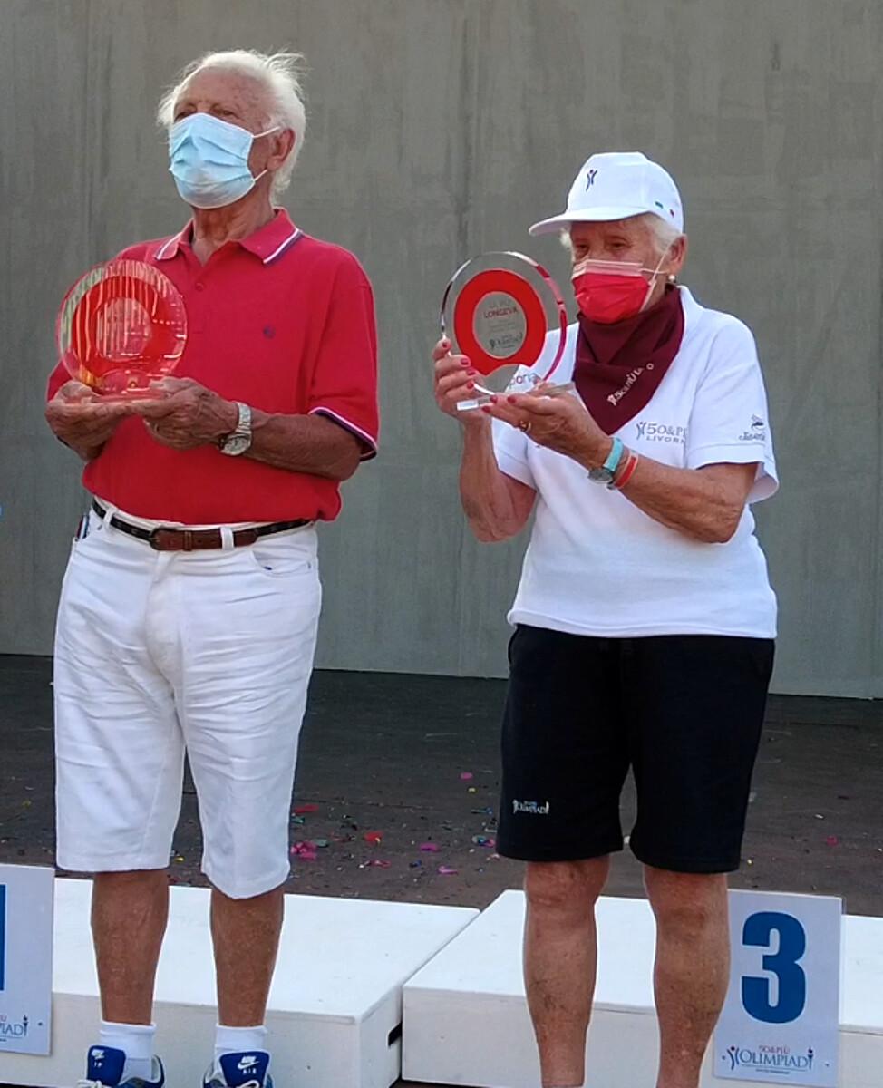 """A 96 anni è l'atleta più longevo: l'impresa di Nicola Augusto alle """"Olimpiadi 50&più"""""""