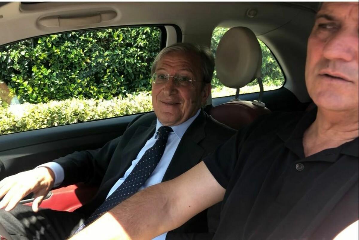 La carica del generale: l'amministratore Marchetti ha fatto visita alla Salernitana