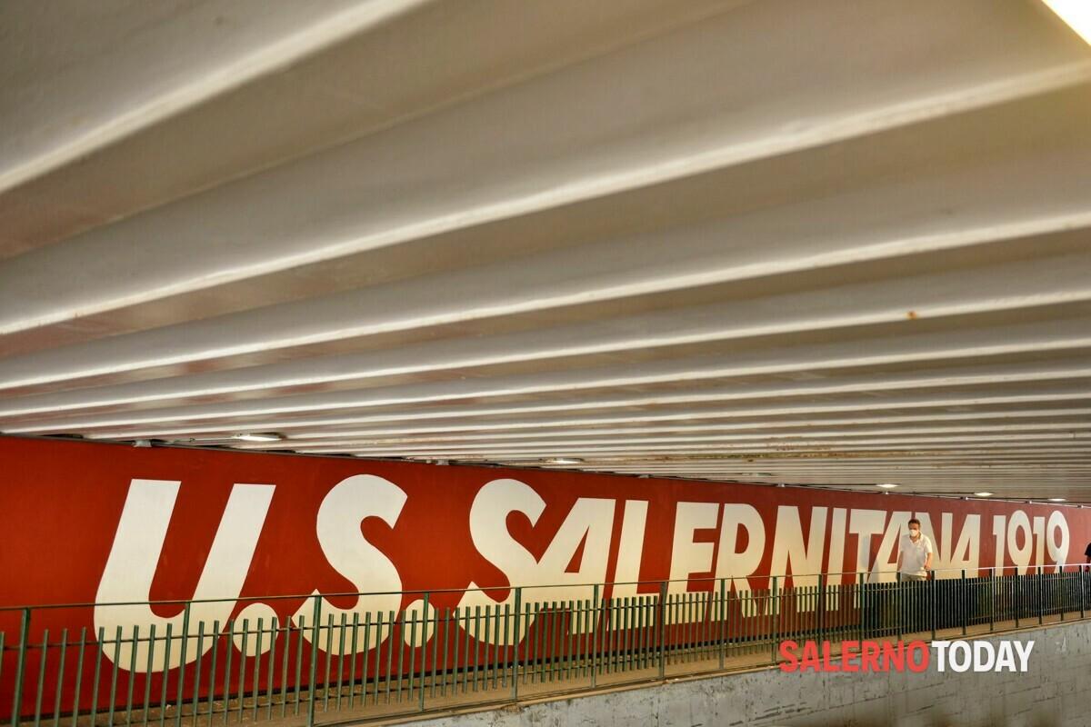 Di padre in figlio: è stato presentato il murales della Salernitana