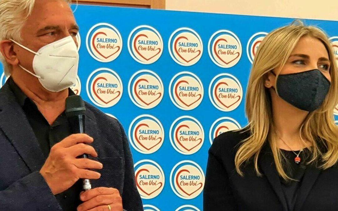 """Elezioni 2021, presentata la lista """"Salerno con Voi"""": ecco i candidati"""
