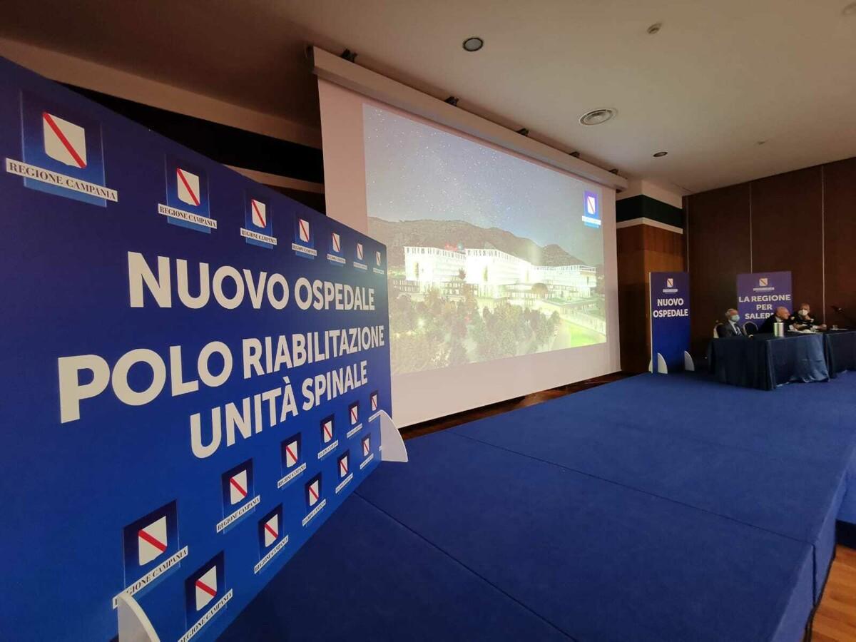 """Nuovo ospedale e polo della riabilitazione a Salerno, parla De Luca: """"Rivoluzione da 1,3 miliardi di euro"""""""