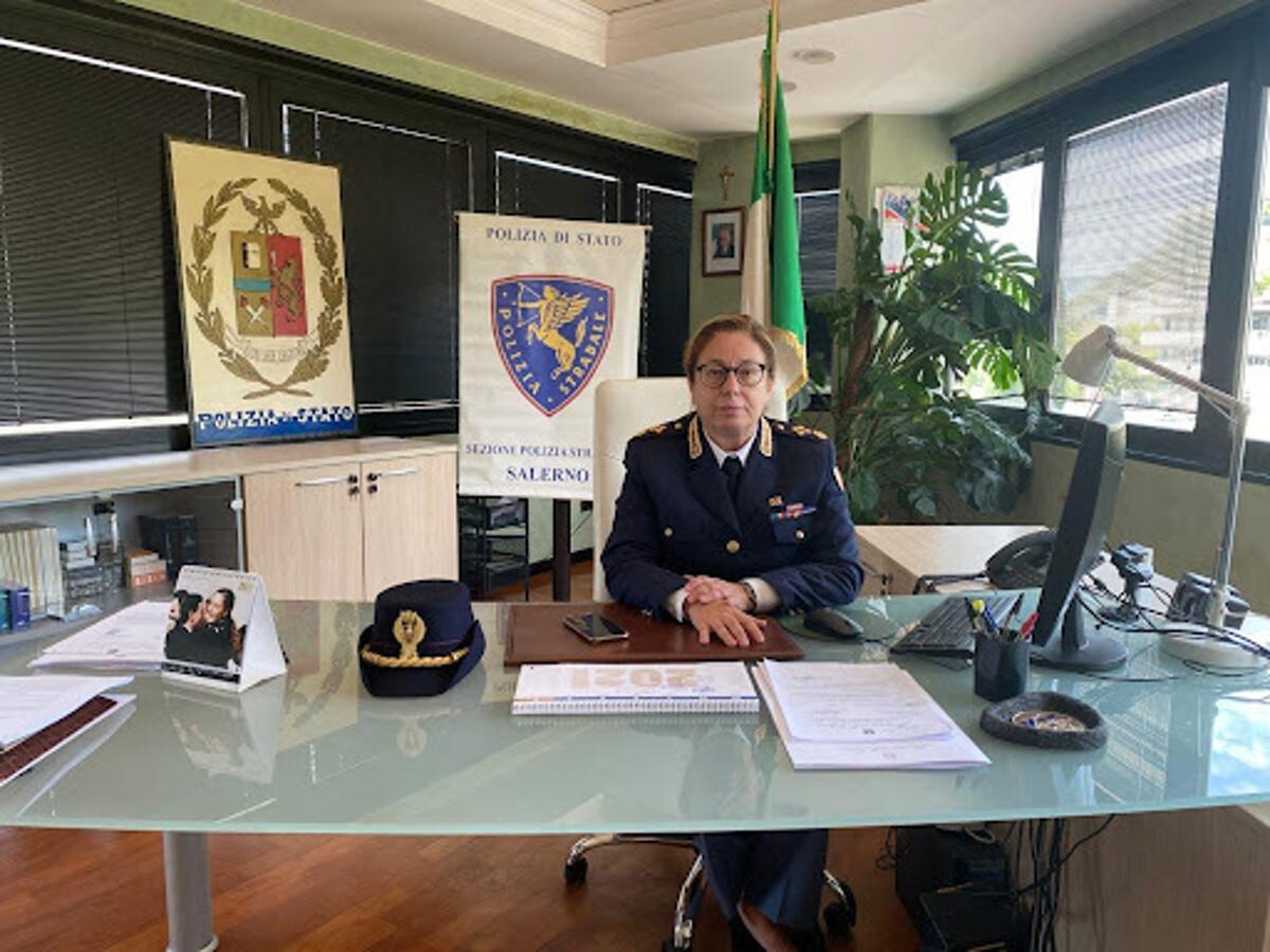 Salerno: la Polizia Stradale ha un nuovo dirigente