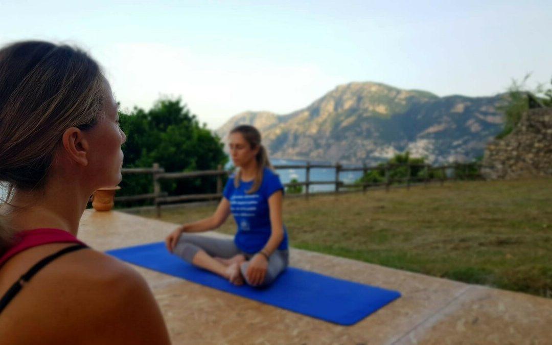 Namasté: è tutto pronto per il festival di yoga a Praiano