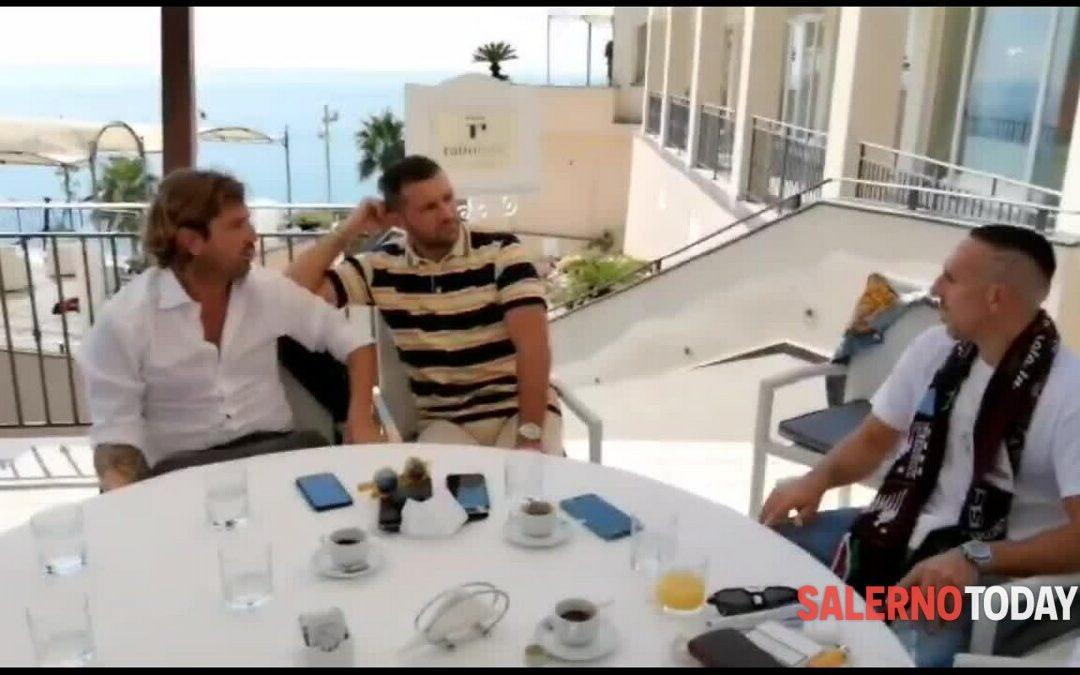Salernitana: Ribery in riunione con Fabiani e Marchetti
