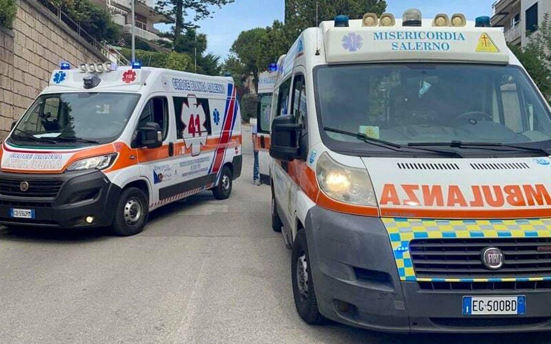 Scoppio di una tubatura del gas nel cantiere di Salerno Sistemi: ustionato un operaio