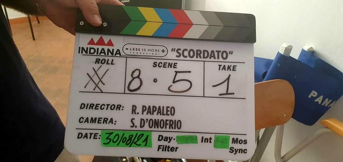 """Salerno: si concludono le riprese di """"Scordato"""", l'ultimo film di Rocco Papaleo"""