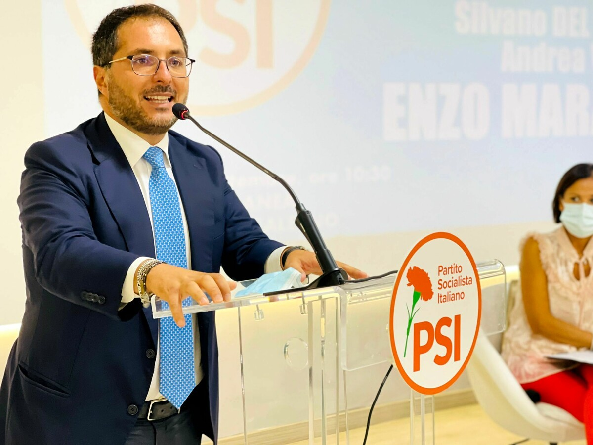 Elezioni comunali a Salerno, la presentazione della lista PSI