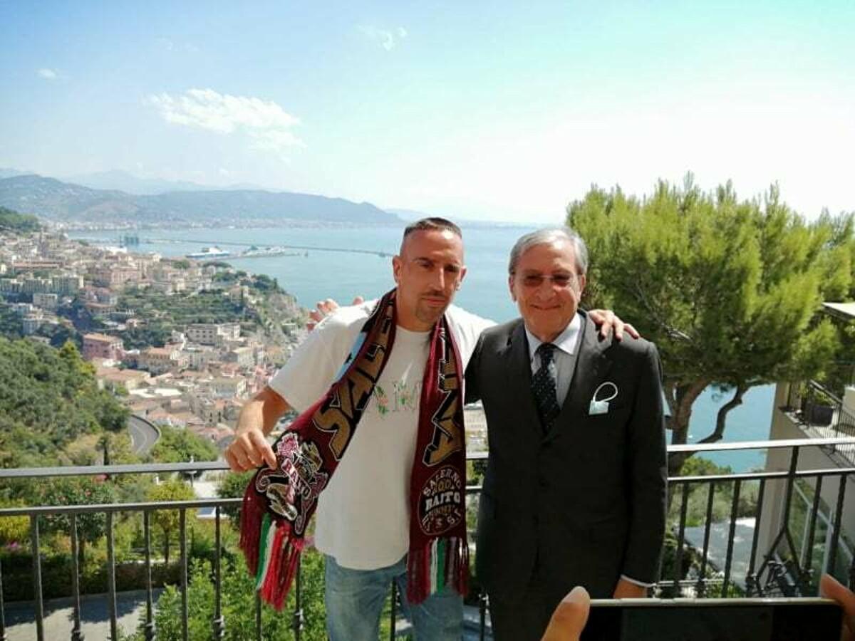 Il giorno di Ribery: riunione con Fabiani e l'amministratore unico Marchetti