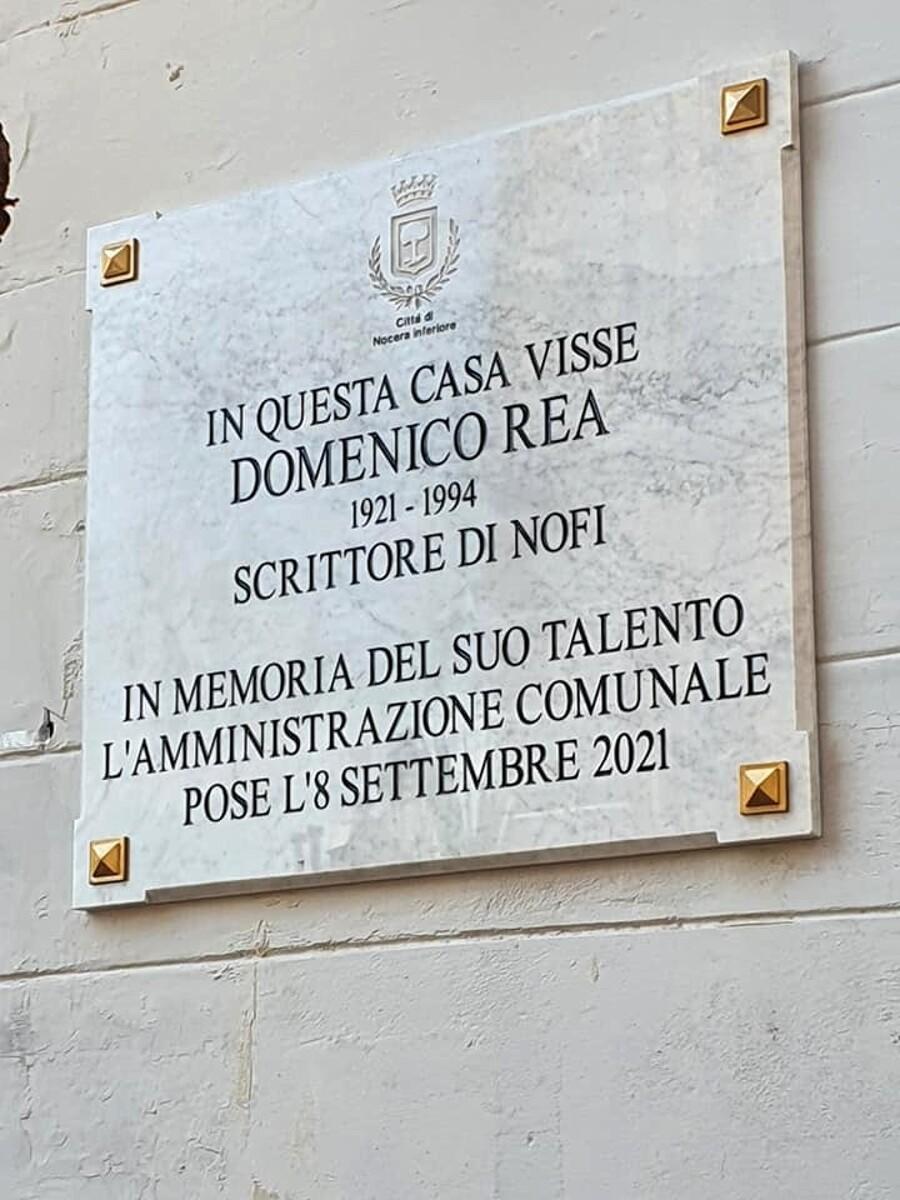 Centenario di Domenico Rea, una targa in ricordo a Nocera Inferiore