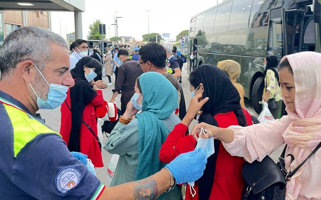 Profughi afghani, altri 112 arrivati a Covid Residence in Campania