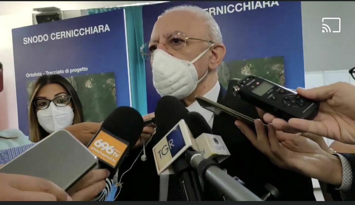 """Porta Ovest e Trincerone, De Luca ai salernitani: """"Un delitto interropere questi progetti"""""""