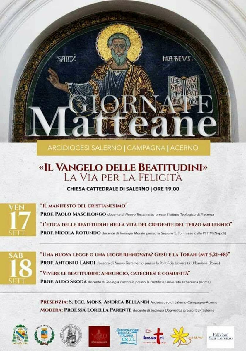 """Tutto per le """"Giornate Matteane"""" a Salerno: ecco il programma"""