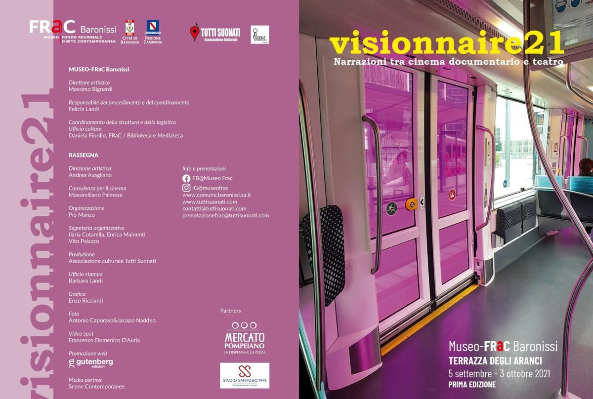 """Reading-concerto su poesie di Pablo Neruda: il FrAc di Baronissi ospita """"Visionnaire"""""""
