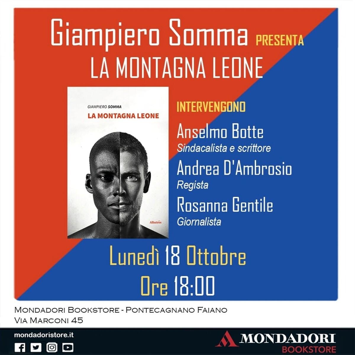 Il primo evento della Mondadori bookstore di Pontecagnano con la presentazione del libro di Somma