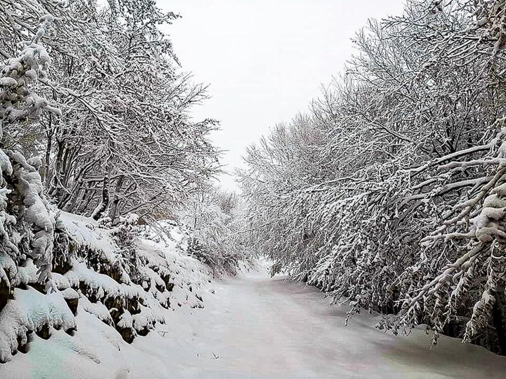 Clima freddo e nevicate sui Picentini: le previsioni meteo nel salernitano
