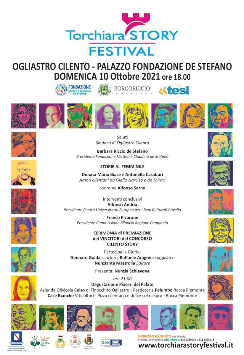 Torchiara Story Festival: Nunzia Schiavone ospite della serata finale